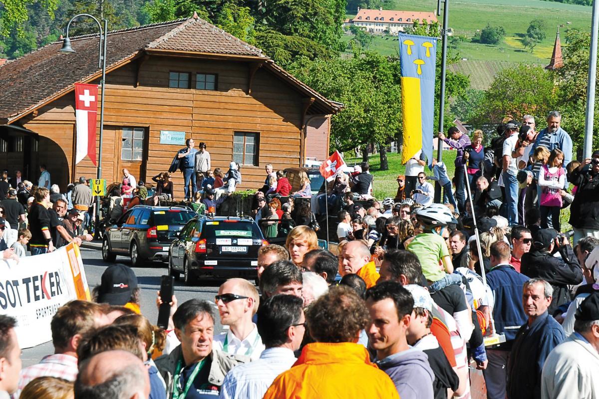 Champagne prépare l'arrivée du Tour de Suisse