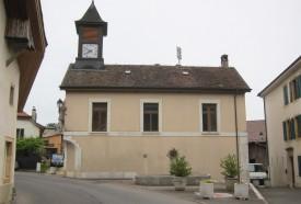 L'ancienne maison de commune suscite le débat. © Roger Juillerat -a