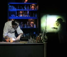 Le Laboratorium était joué vendredi dernier à Benno Besson. DR