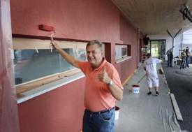 Didier Lombardet, municipal de Chavornay en charge des écoles et des bâtiments.