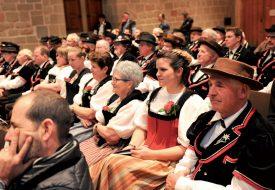 Les costumes traditionnels étaient naturellement de sortie à l'Aula Magna. ©Carole Alkabes