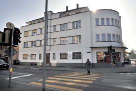 En 1931, Horace Decoppet a réalisé cette construction à la rue du Midi 12. ©Michel Duperrex