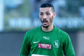 Yassine El Allaoui, un goaleador désormais au service d'Yverdon Sport. © Champi