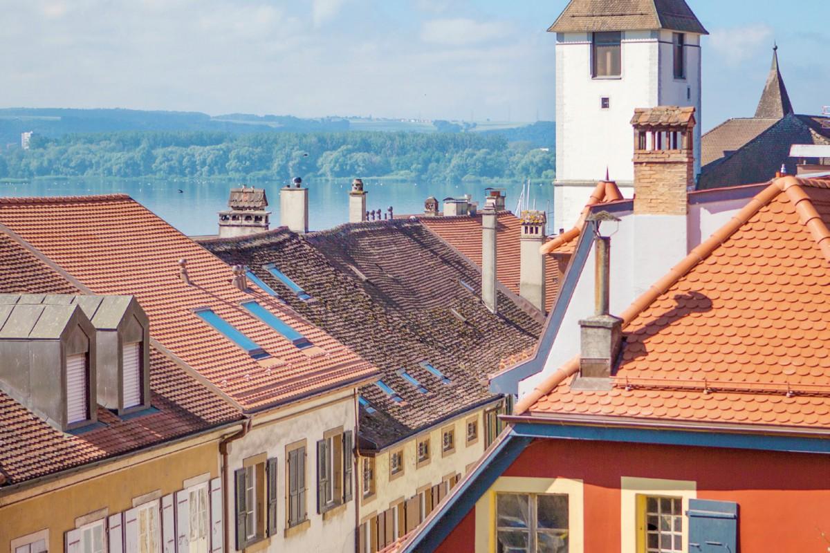 Grandson, l'un des plus beaux bourgs de Suisse