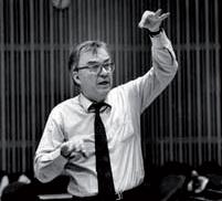 André Charlet a dirigé l'Orchestre symphonique de Lausanne. ©DR