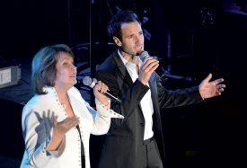 Mady et Julien Laurence en duo. ©Michel Duperrex