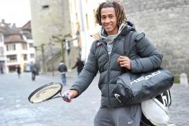 Jessy Kalambay est toujours prêt à trimballer ses sacs sur le circuit Future ou celui des Challengers. Il a même participé deux fois aux qualifications du tournoi ATP de Gstaad, sans parvenir à s'en extirper, au bénéfice d'une wildcard délivrée par les organisateurs. © Michel Duperrex