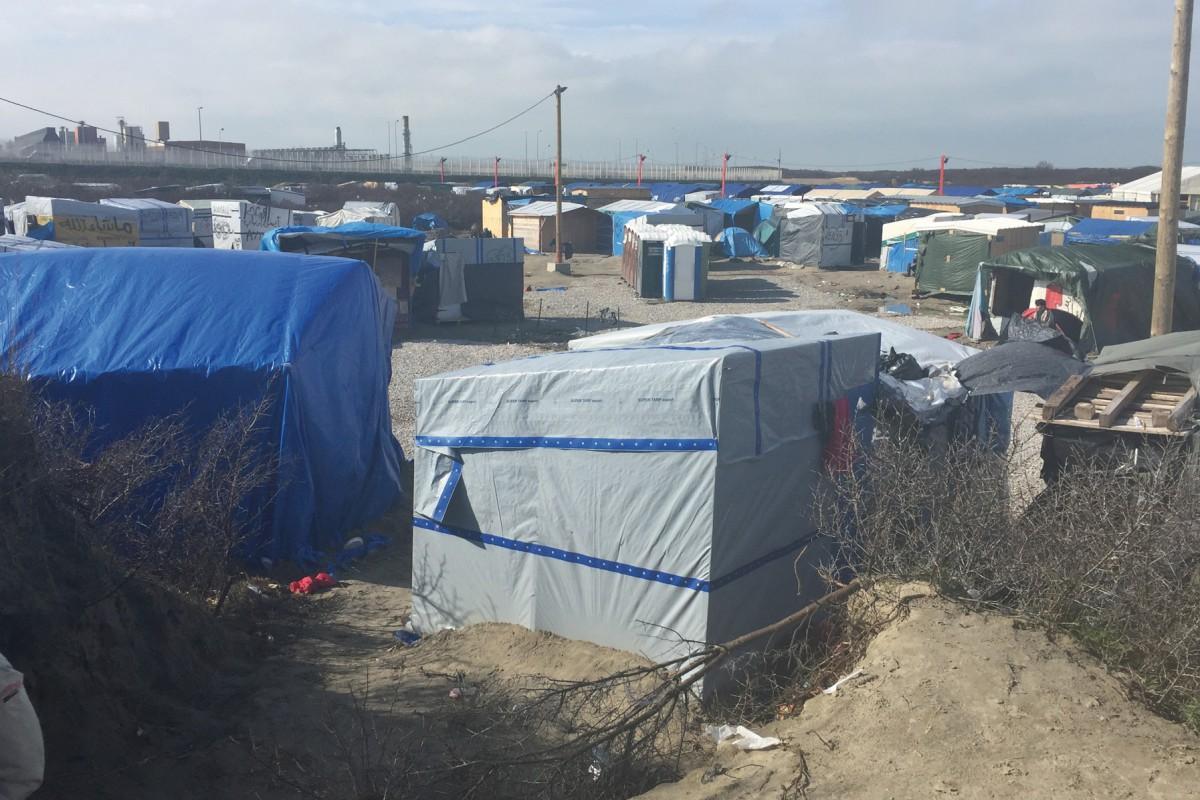 En immersion au coeur de la «jungle» de Calais