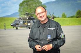 L'Yverdonnois Philippe Bonzon, responsable de la formation et chef des unités spéciales de la Police cantonale vaudoise. © Carole Alkabes