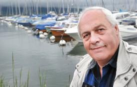 Gilbert Peguiron, président de l'Association du Port d'Yvonand, indique que la problématique des bateaux-ventouses est en voie de régulation. © Michel Duperrex
