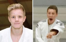 Lionel Schwander et Nicolas Jäggi, respectivement médaillés d'or et de bronze en M18. © Jacquet -a/Champi -a