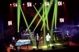 Les dispositifs numériques ont donné à ce concert annuel des airs de spectacle à l'américaine. ©Michel Duperrex