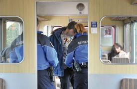Lors d'un contrôle dans le train Orbe-Chavornay, les agents ont trouvé de la drogue sur l'un des passagers. © Michel Duperrex