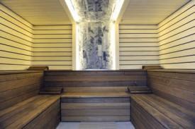 Il ne manque plus que les clients dans le sauna. © Michel Duperrex