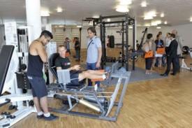 La salle de musculation a triplé de taille. © Michel Duperrex