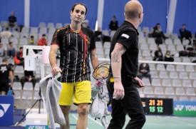 Anthony Dumartheray ne range pas ses raquettes, au contraire. Mais il les sortira moins à l'international. © Jacquet -a
