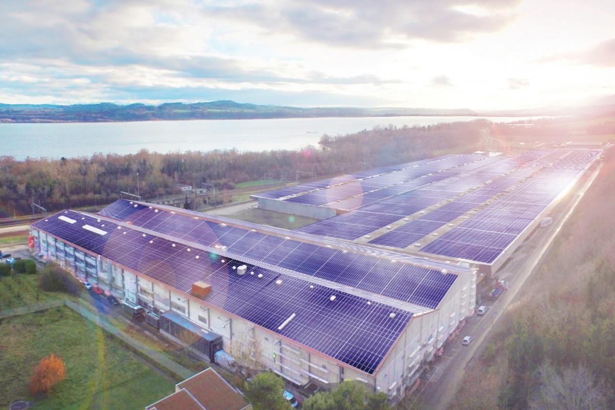 Onnens, leader suisse de l'énergie solaire