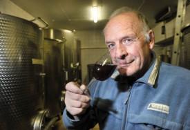 Le vigneron de Mathod Daniel Marendaz se félicite, à l'image de ses collègues, de la qualité du millésime 2015. © Michel Duperrex
