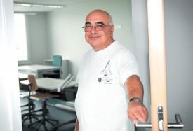 Antonino Casimo, un municipal heureux et soulagé de voir les travaux terminés. ©Carole Alkabes