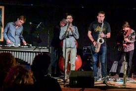 Lost in Swing a proposé son jazz pour animer une partie de la soirée de samedi. ©Pierre Blanchard