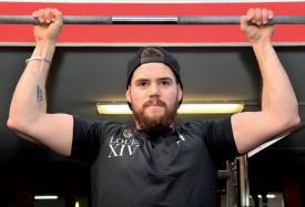 Le Combier fréquente régulièrement le Best Body Fitness d'Yverdon, où il trouve les machines pour entraîner les départs. ©Michel Duperrex
