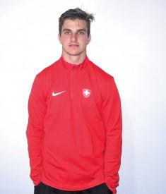 Simon Le Coultre porte les couleurs de l'équipe de Suisse, cette semaine. ©DR