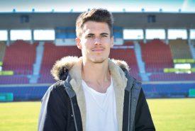 Jérémy Manière, 25 ans, peut évoluer en défense comme dans l'entrejeu, sur la pelouse de la Pontaise. ©Carole Alkabes