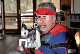 Jean-François Nicolet a les Jeux paralympiques dans la mire. ©Michel Duperrex