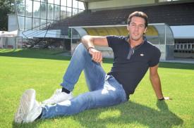 Adriano De Pierro est un des trois joueurs à être passés de Xamax à YS, cet été. ©Carole Alkabes