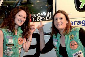 Déborah Gavin (à g.) et Johana Beney se sont découvertes une véritable passion. ©Michel Duperrex