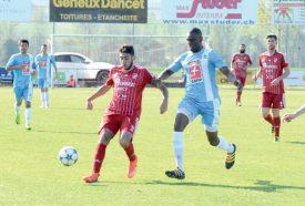Muamer Zeneli a inscrit le penalty du 1-1, obtenu par l'omniprésent Bourama Ouattara. ©Michel Duvoisin