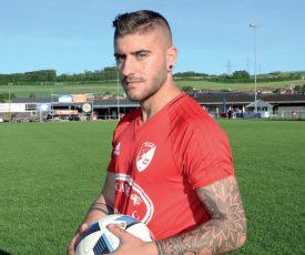 Adrian Alvarez a rejoint le FC Bavois durant la pause hivernale; un club qui lui a permis de débuter sa reconversion. ©Michel Duvoisin