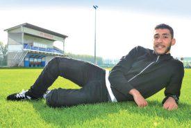 Yanis Lahiouel poursuivra son chemin au Stade Municipal. ©Alkabes-a