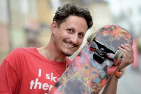 Riders in Paradise s'emploie pour faire vivre le skatepark. ©Michel Duperrex