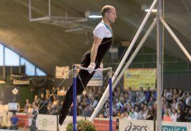 Francis Gruet a parfaitement su gérer les quatre premiers engins du concours pour se retrouver en position idéale avant le saut. ©David Piot