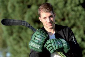 Aymeric Deschenaux, 21 ans, se sent plus affûté que jamais, en ce début de saison. ©Michel Duperrex