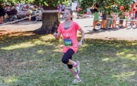 Noémie Rapp a dominé sans partage la course des enfants. ©Pierre Blanchard
