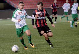 Yverdon Sport a disputé son premier match de l'année. ©Michel Duperrex