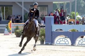 Jennifer Meylan est revenue dans la région pour y décrocher le bronze des Nationaux. Fort ! ©Michel Duvoisin