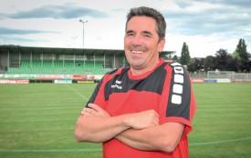 Malgré un début d'exercice périlleux pour les Yverdonnoises, l'entraîneur Frédéric Mauron croit en sa bonne étoile. ©Alkabes-a