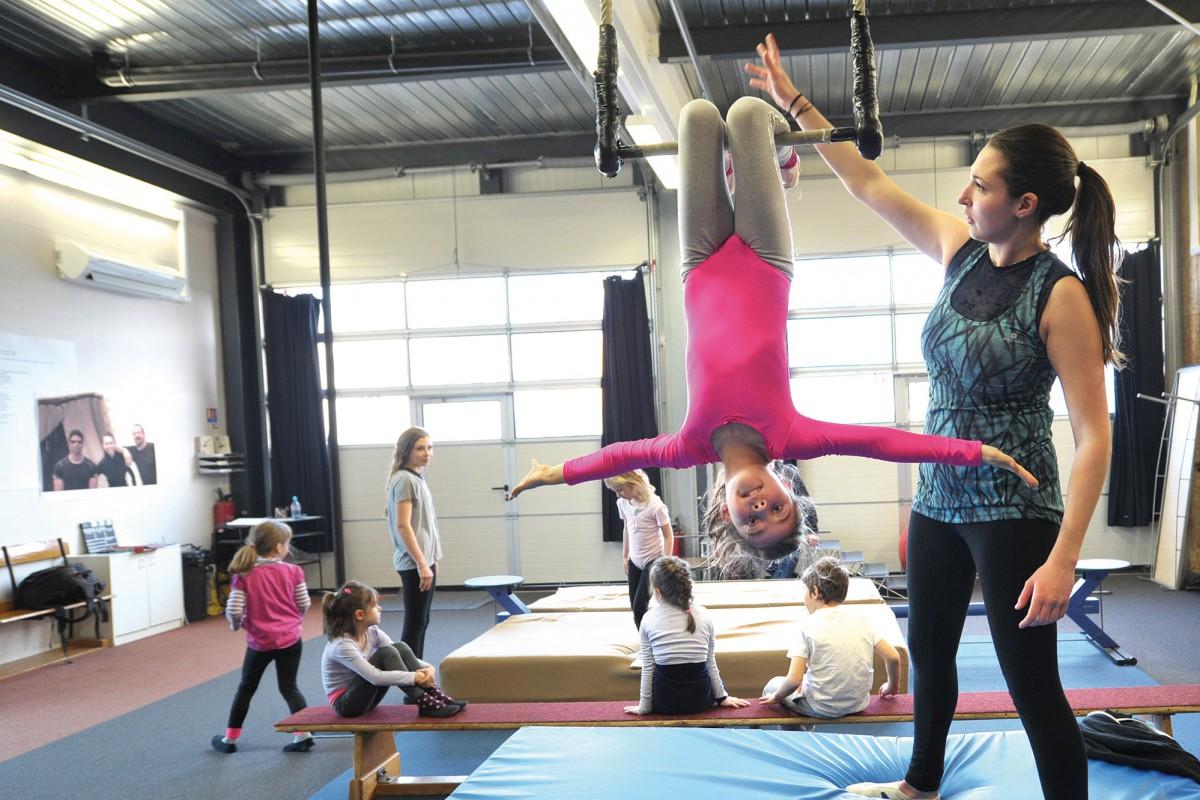 Le «cadeau du ciel» de l'école de cirque