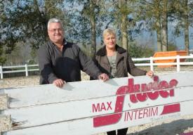 Max Studer et Tania Fromentin s'apprêtent à faire le grand saut. Le Centre équestre bénéficiera de leur passion pour le cheval. © Raposo