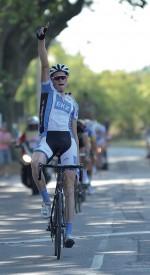 Lars Schnyder, lors de sa victoire en Provence. ©Christophe Martinez/DR