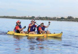Trek, VTT, canoë, chasse au trésor, triathlon avec course d'orientation et trail étaient au programme du Raid Amazones 2016, qui s'est déroulé en Californie. ©Nicolas Souyris / Mike Magnin / Raid Amazones
