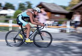 Delphine Bonnaud a été la meilleure athlète du TRY, sur la distance olympique. ©Champi