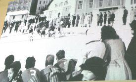 On jouait déjà au hockey sur glace au Sentier en 1930. ©Michel Duvoisin