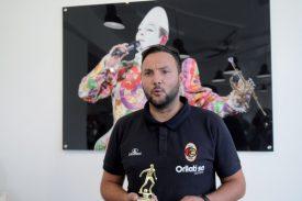 Le témoignage de Bruno Gomes, passé près de la mort l'été dernier, a marqué les esprits. L'entraîneur urbigène de 35 ans est désormais en pleine forme. ©Michel Duvoisin
