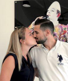 Quelle incroyable semaine pour Mathias Béguin (YS II): marié à Morgane le samedi et Briscarisé le lundi! ©Michel Duvoisin
