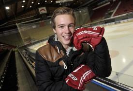 Sous ses mèches blondes se cache un joueur intransigeant. Valentin Pilet est un des défenseurs de Malley et de l'équipe de Suisse M17.