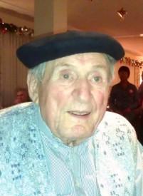 Photo d'Eric Guinchard, tout sourire, prise quelques jours seulement avant son décès. A 93 ans, il fourmillait encore de projets.